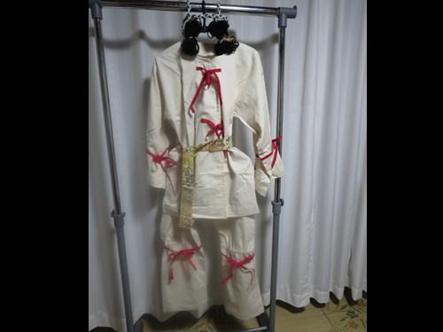 古墳時代の男性と女性の衣裳