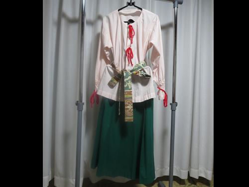 弥生時代の女性の衣装